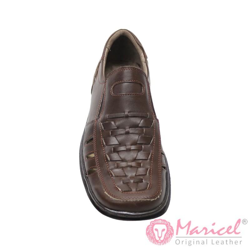 Sandale barbatesti din piele naturala  MAR-113