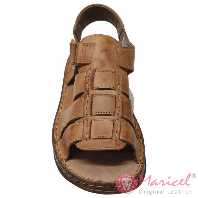 Sandale barbatesti din piele naturala MAR-149