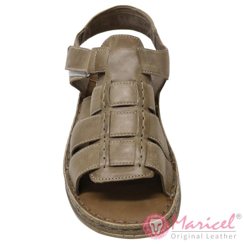 Sandale barbatesti din piele naturala MAR-150