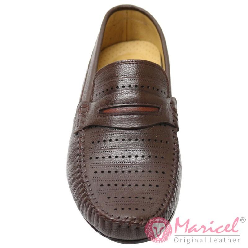 Pantofi barbatesti casual din piele naturala MAR-158