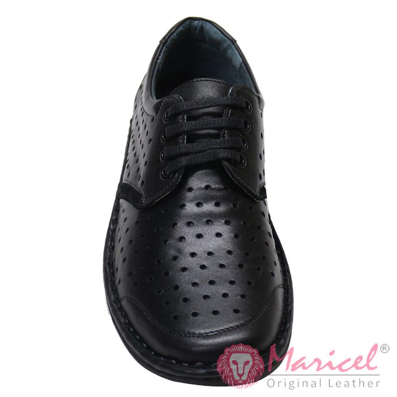 Pantofi barbatesti casual negru MAR-222