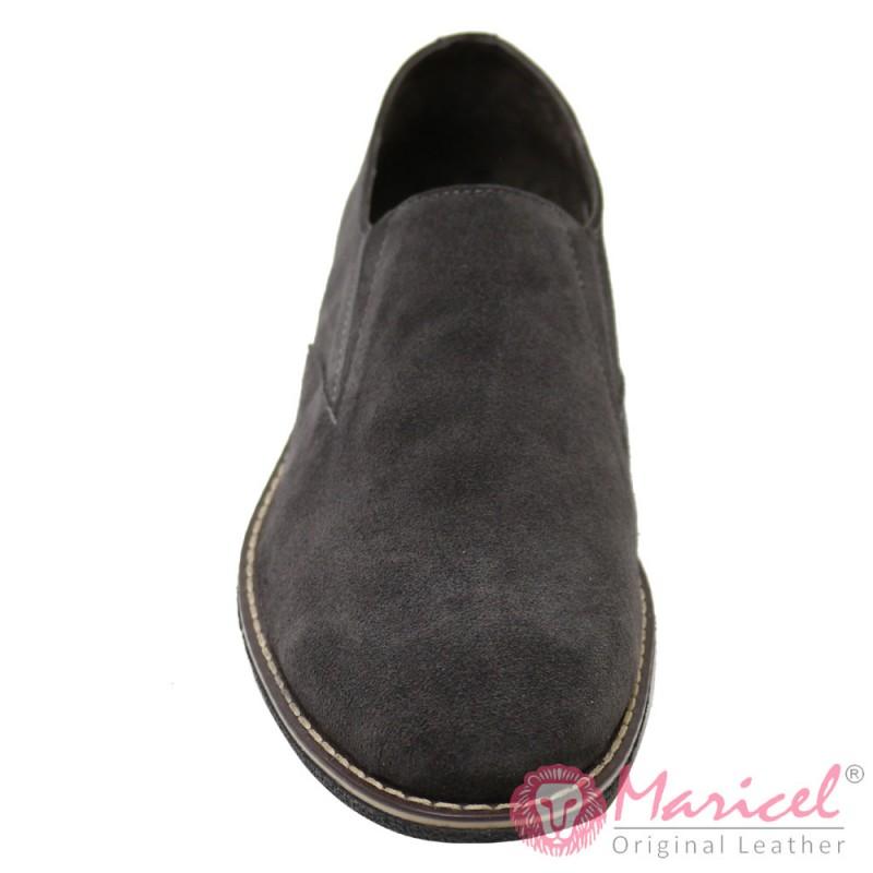 Pantofi barbati din piele naturala intoarsa MAR-85
