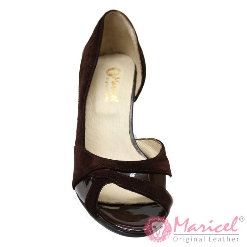 Pantofi din piele naturala MAR-16