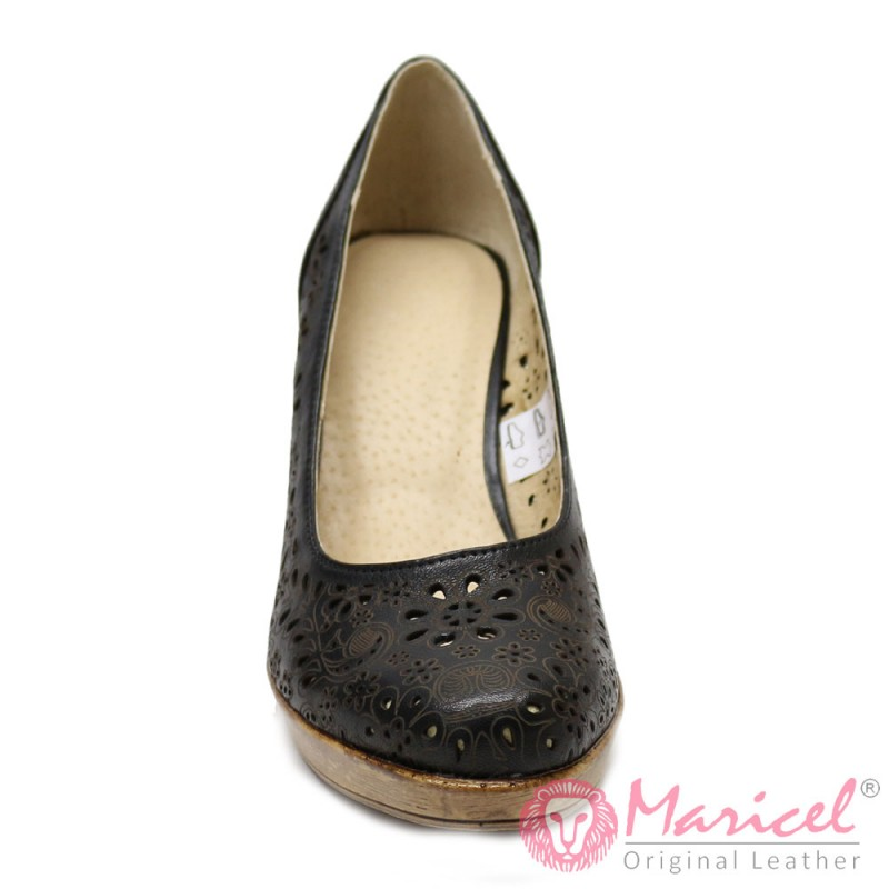 Pantofi din piele naturala MAR-05