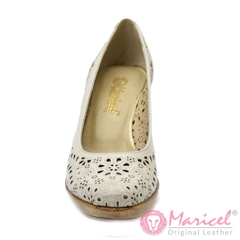 Pantofi din piele naturala MAR-07