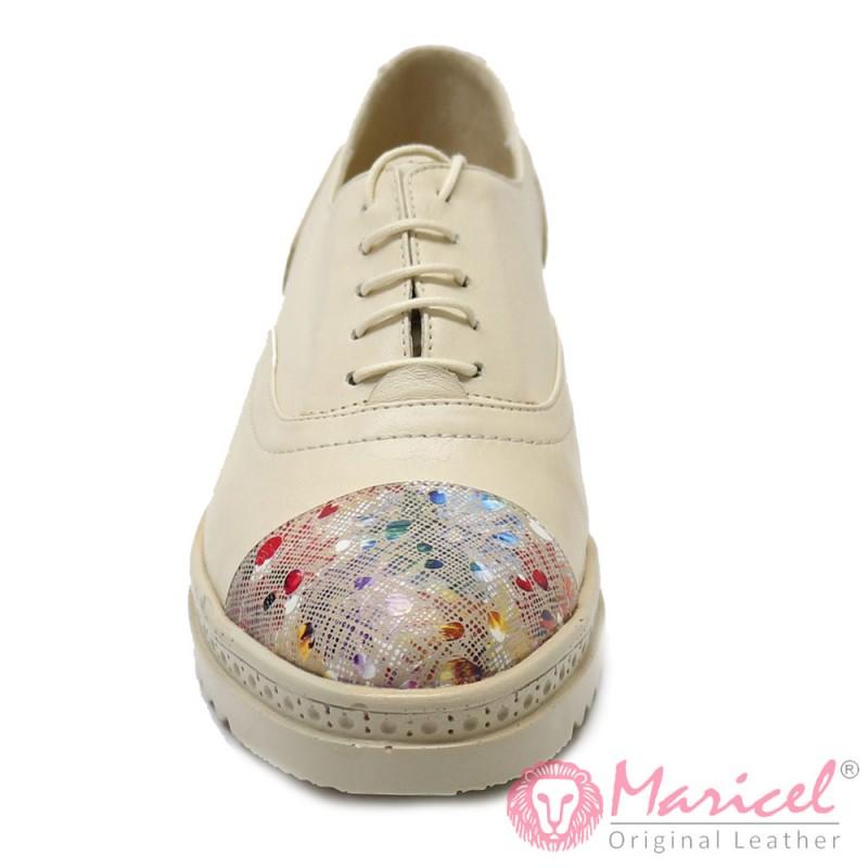 Pantofi din piele naturala MAR-08