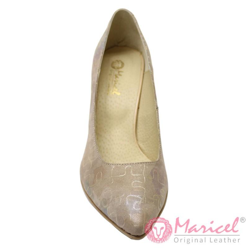 Pantofi dama din piele naturala BAZEL MAR-106