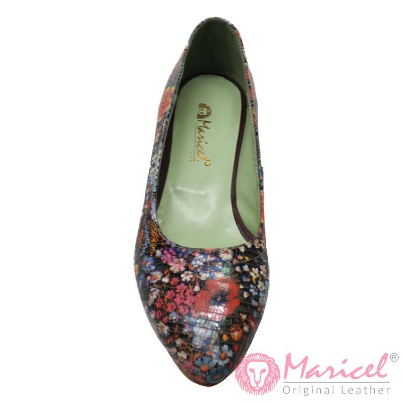 Pantofi dama elegant din piele naturala MAR-118