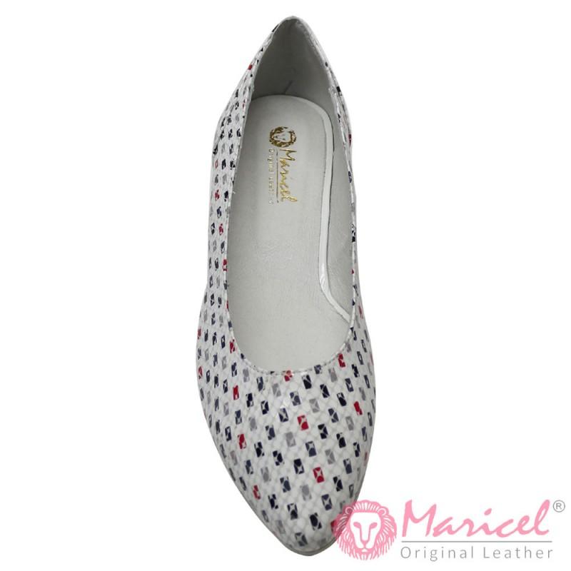 Pantofi dama eleganti din piele naturala MAR-122