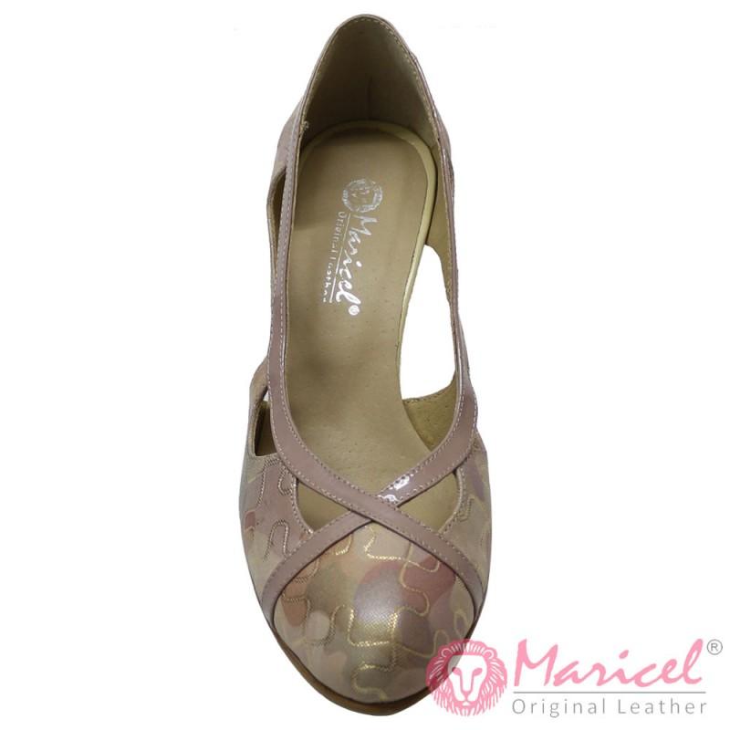 Pantofi dama eleganti piele naturala MAR-140