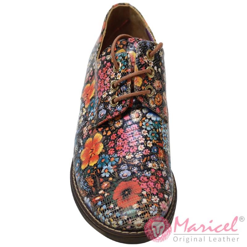 Pantofi dama casual din piele naturala MAR-157