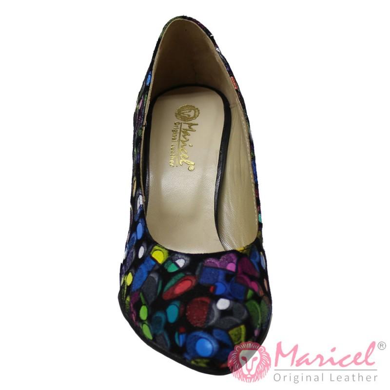 Pantofi dama stileto din piele naturala MAR-170