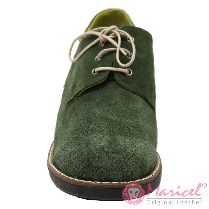 Pantofi din piele naturala intoarsa dama MAR-52