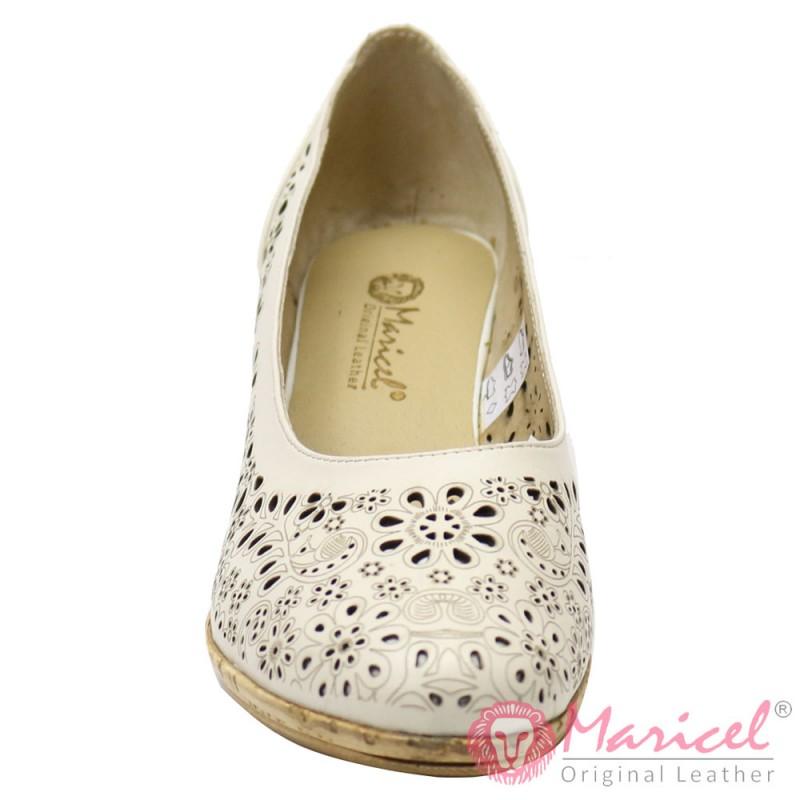 Pantofi dama din piele naturala MAR-54