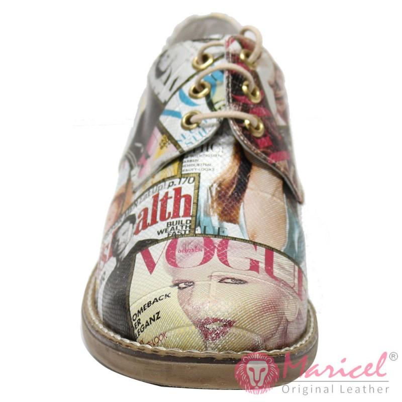 Pantofi dama din piele naturala VOGUE MAR-64