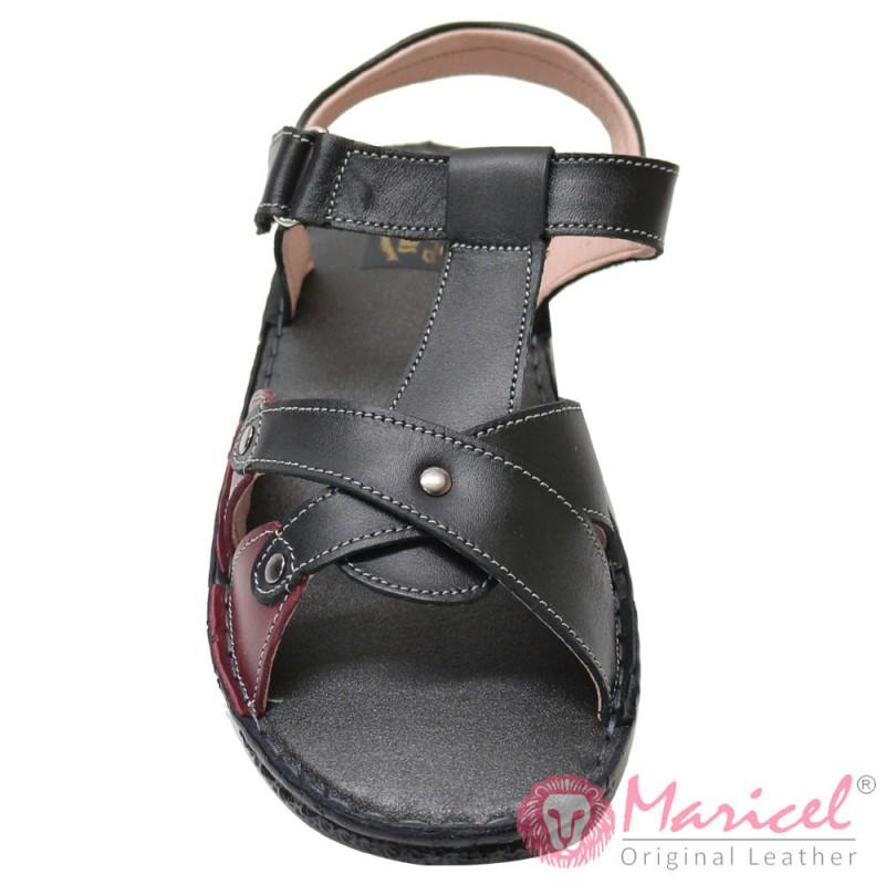 Sandale dama din piele naturala MAR-155