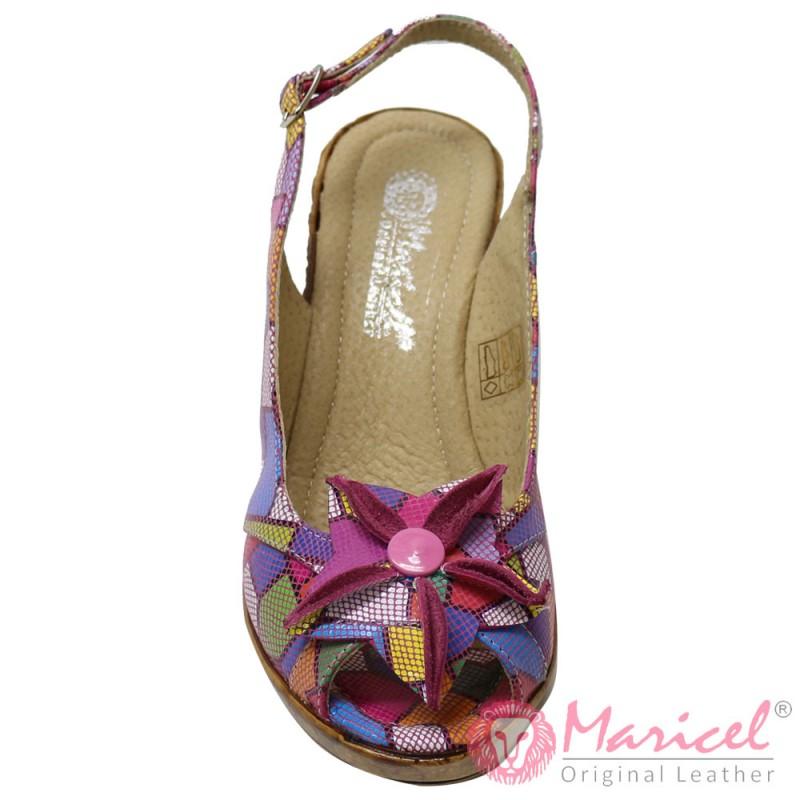 Sandale dama din piele naturala BAZEL MAR-162