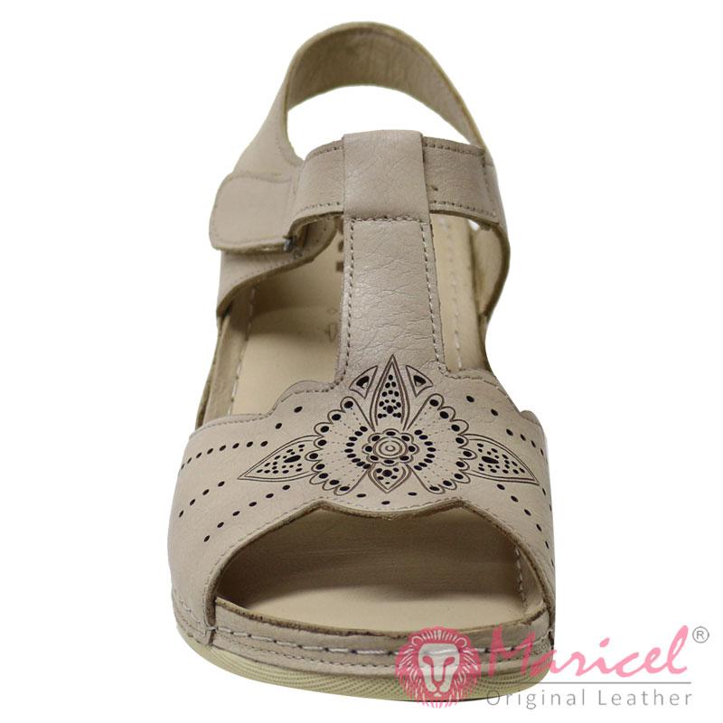 Sandale dama din piele naturala MAR-200