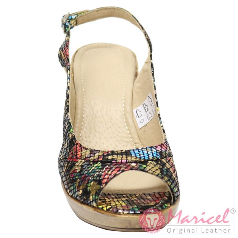 Sandale dama din piele naturala MAR-55