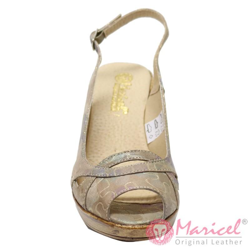 Sandale dama din piele naturala BAZEL MAR-73