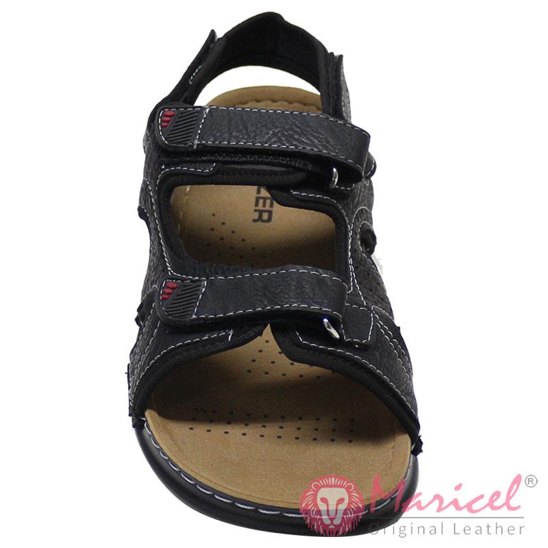 Sandale barbatesti din piele naturala MAR-219