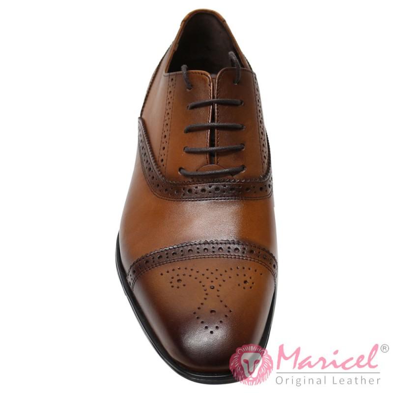 Pantofi barbatesti eleganti din piele naturala MAR-163