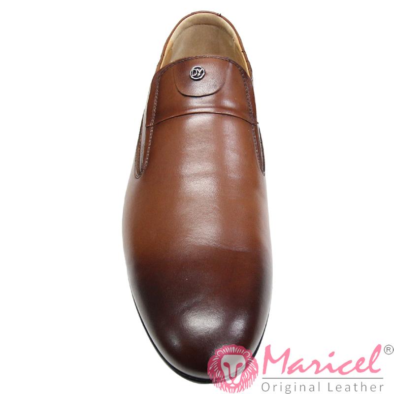 Pantofi barbatesti eleganti din piele naturala MAR-310