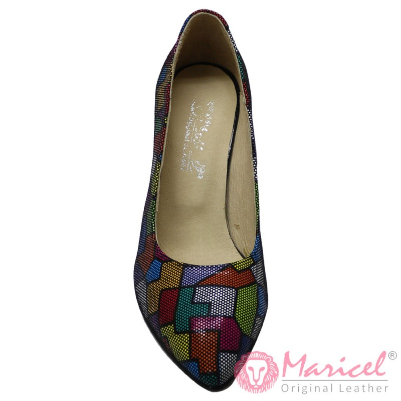 Pantofi dama eleganti piele naturala MAR-139