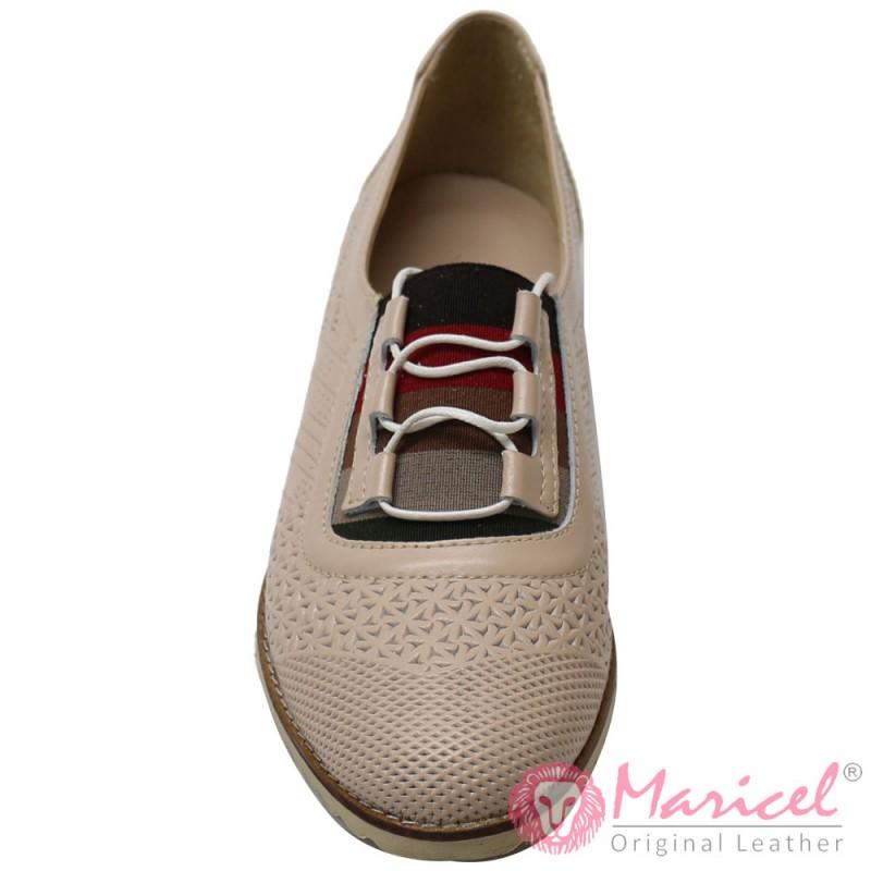 Pantofi dama casual din piele naturala MAR-152