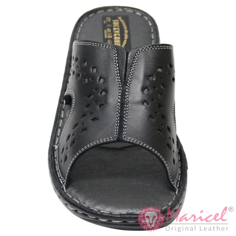Papuci dama casual piele naturala MAR-154