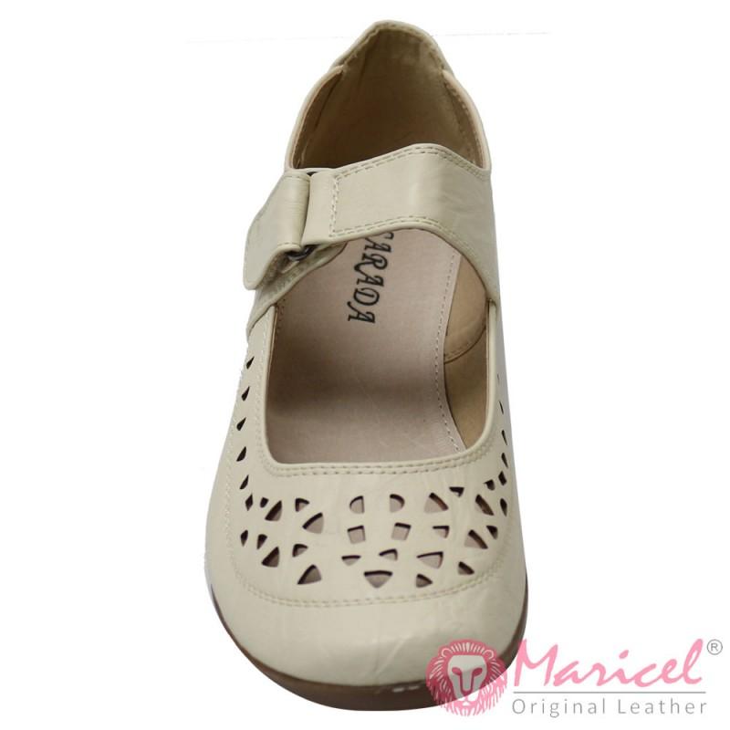 Pantofi dama casual din piele sintetica MAR-160