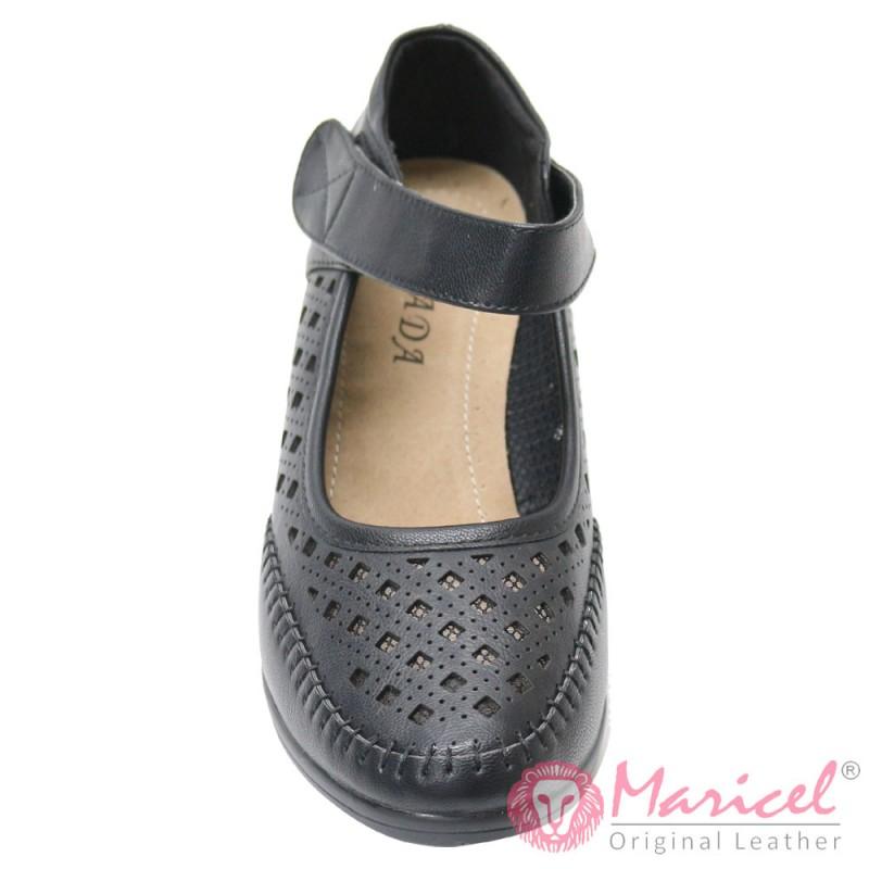 Pantofi dama casual din piele sintetica MAR-161