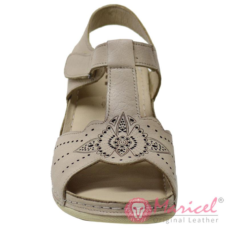 Sandale dama casual din piele naturala MAR-261