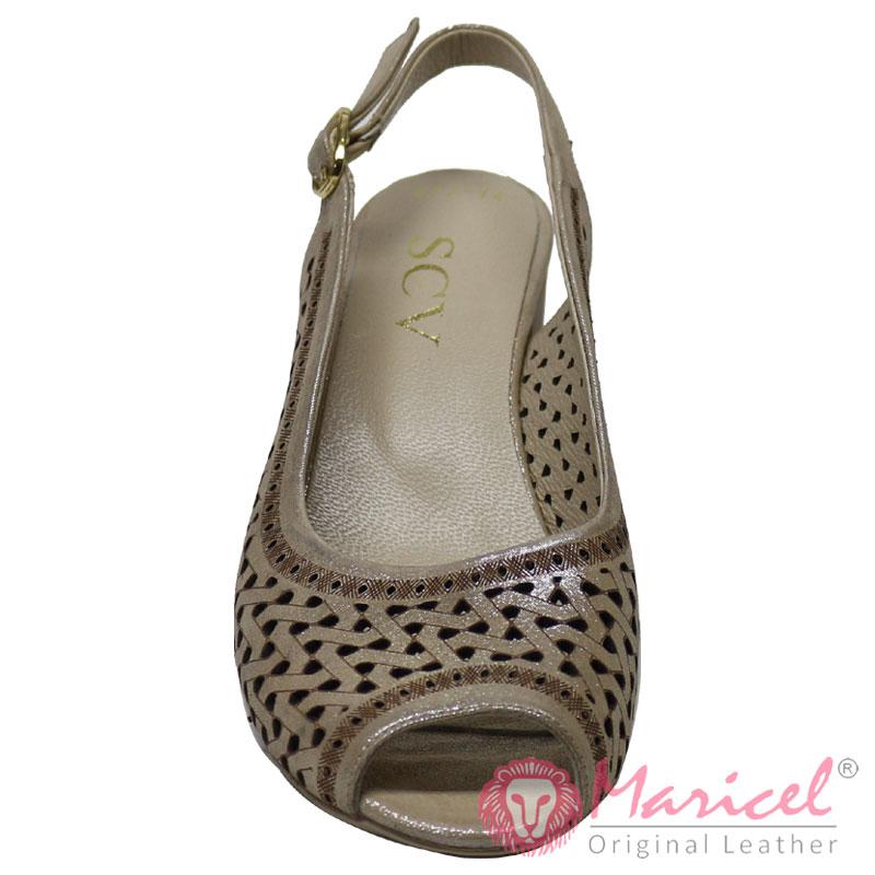 Sandale dama casual din piele MAR-268